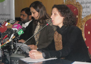 Valerie Khan Yusufzai speaks publicly about acid violence