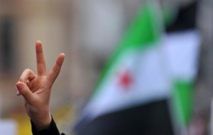 Syria Peace Sign Image